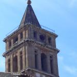 Villa d'Este: campanile della Chiesa di S. maria Maggiore, foto Roberto Borgia, 2006.