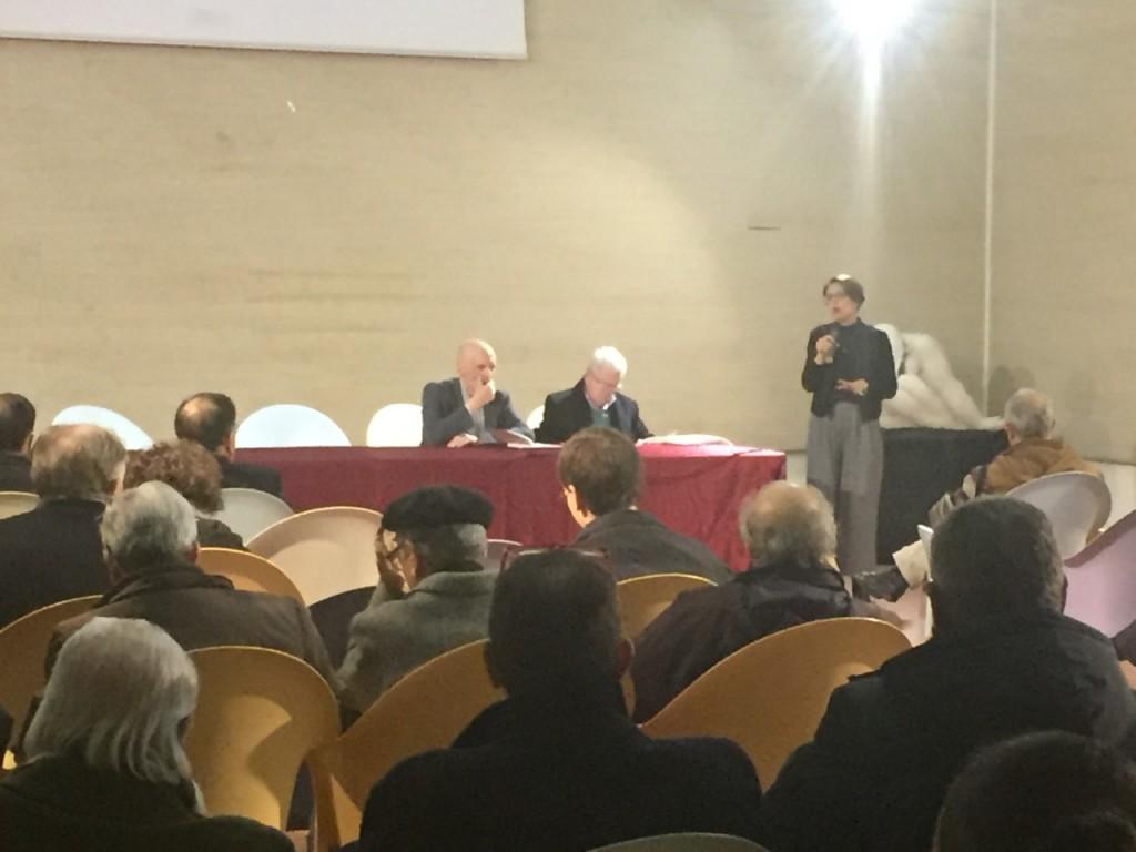 La prof.ssa Francesca Mollo
