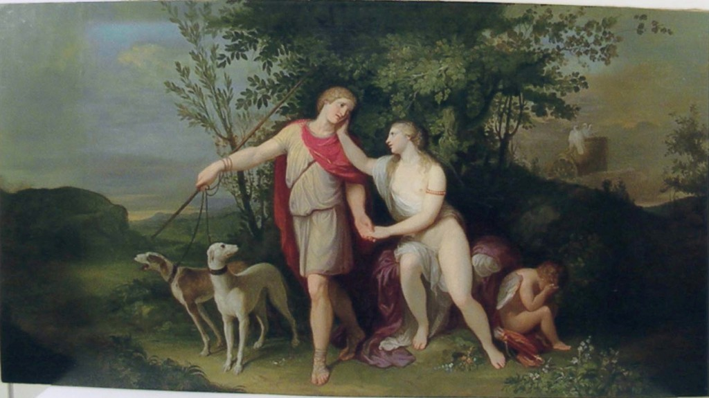 Andrea Appiani ( Milano 1754 – Milano 1817) 1784 Venere e Adone, olio su tela