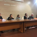 Il gruppo del dialetto tiburtino della LUIG, guidato dal prof. Franco Sciarretta