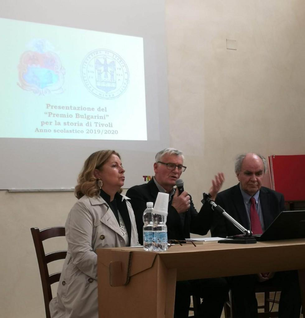 L'intervento del prof. Franco Sciarretta