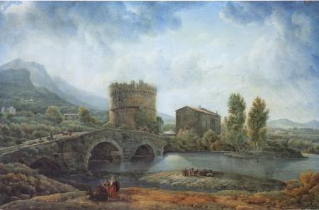 ducros_vue_du_ponte_lucano_et_du_tombeau