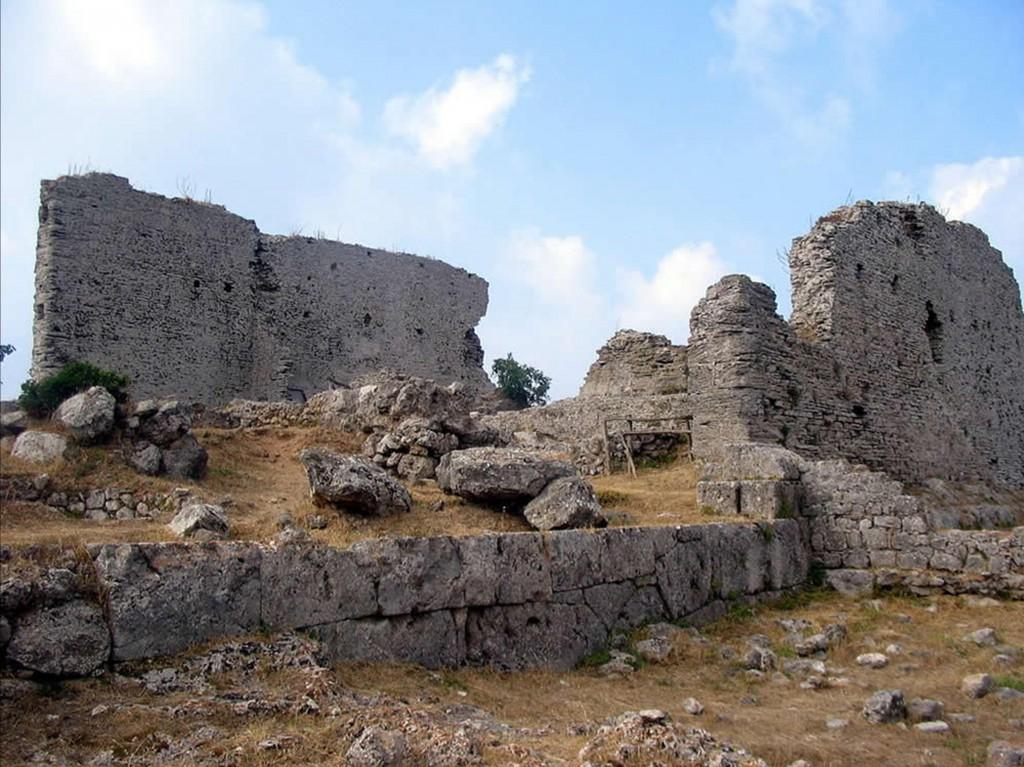 Resti dell'antica città di Cosa