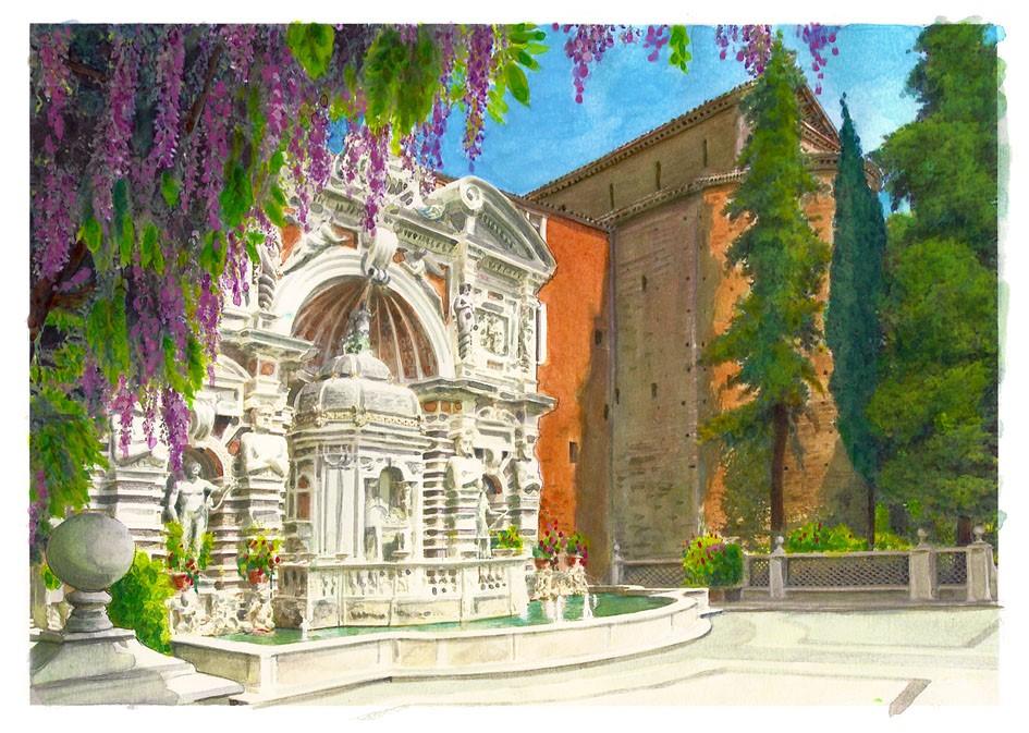 Fontana_Organo_acquerello