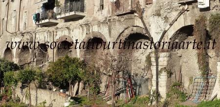 Fig. 3. Criptoportico di Piazza D. Tani: facciata