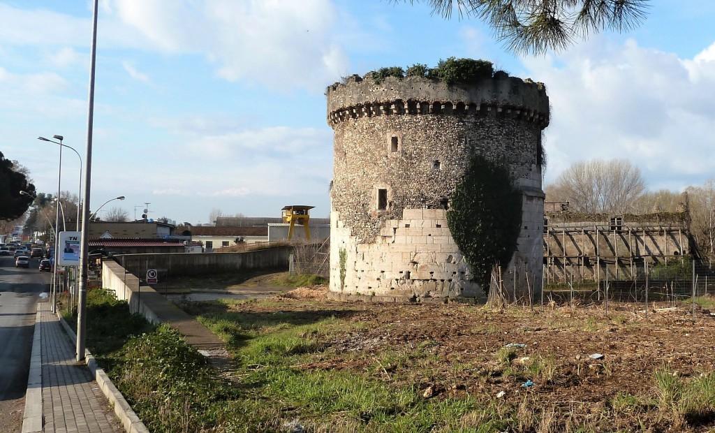 Fig. 2. L'area del mausoleo prima dell'impianto del cantiere