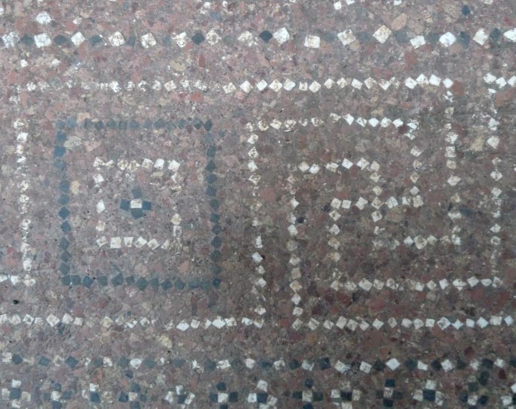 Fig. 5. Pavimento in cocciopesto: particolare