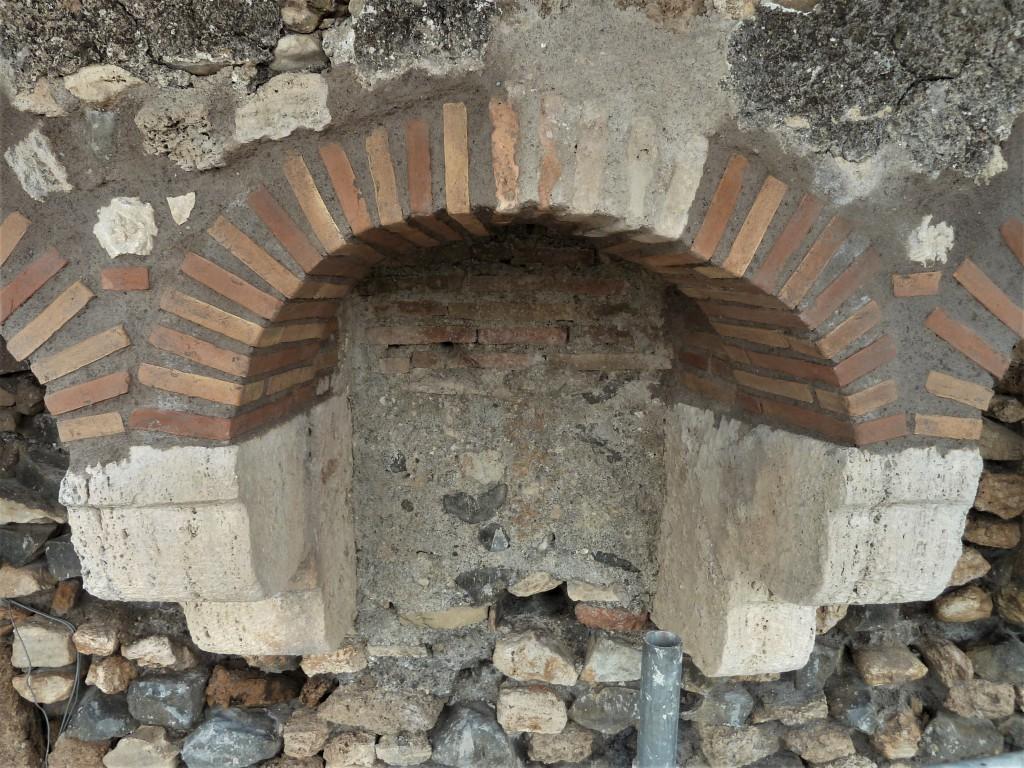 Fig. 8. Uno degli archetti restaurato
