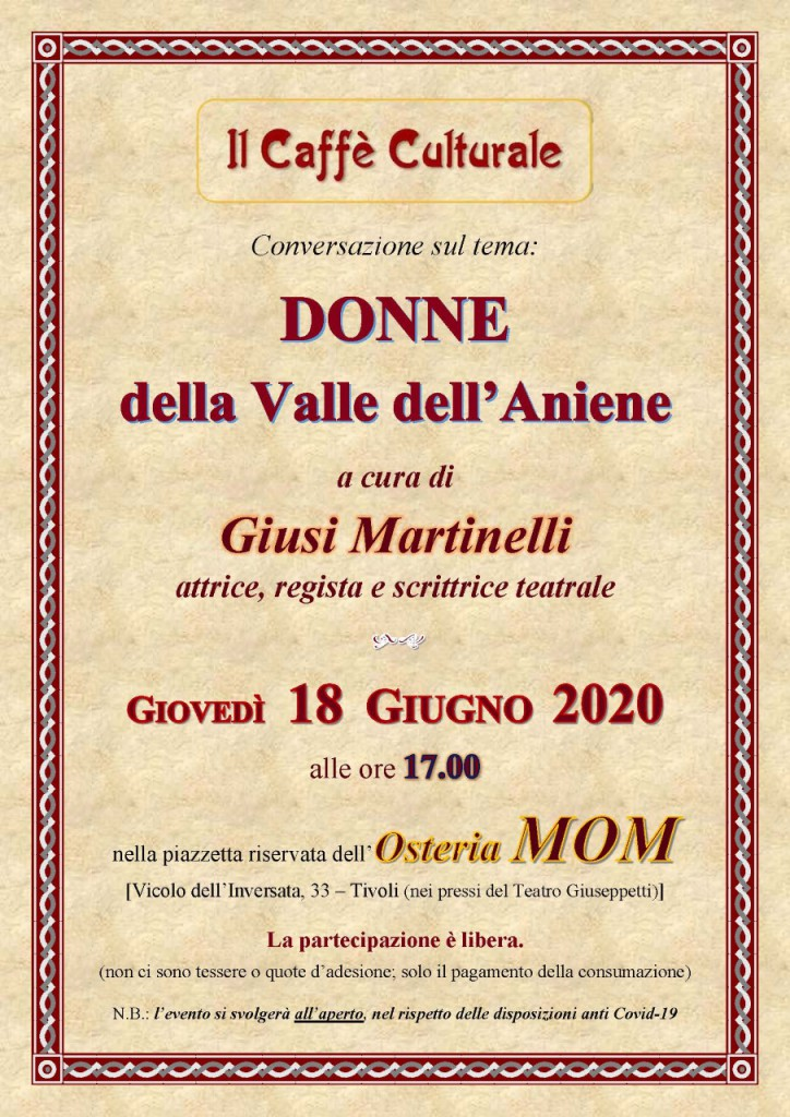 Donne della Valle dell'Aniene (new 18-06-2020)