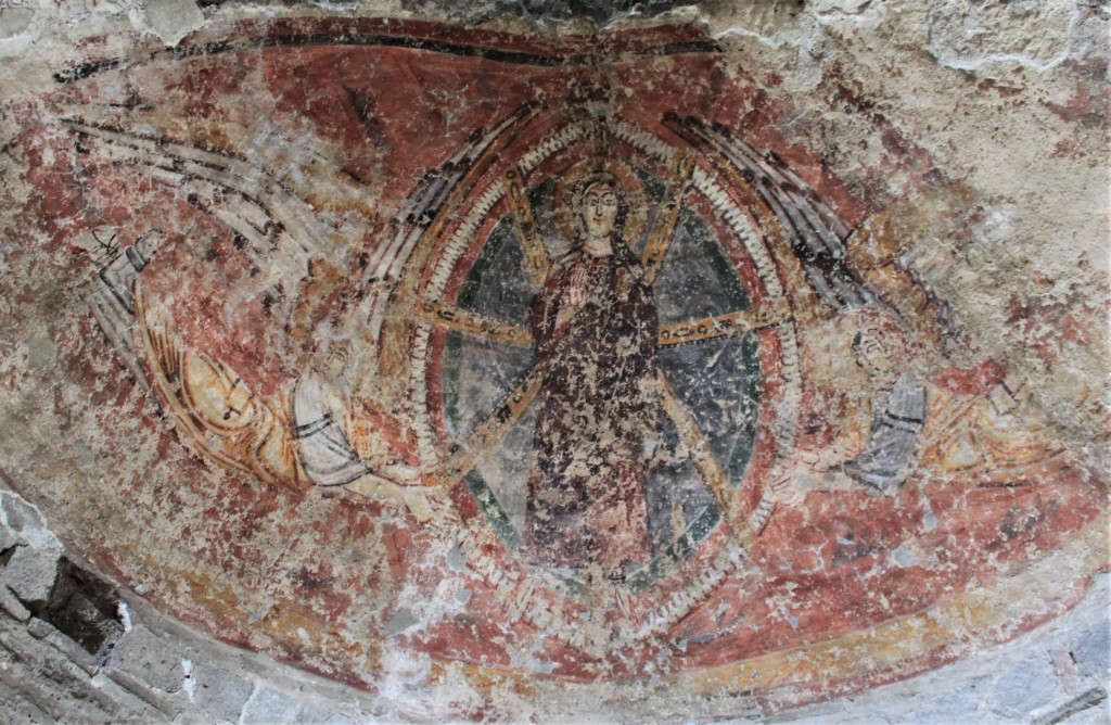 Fig. 16. Affresco dell'absidiola Sud-Ovest
