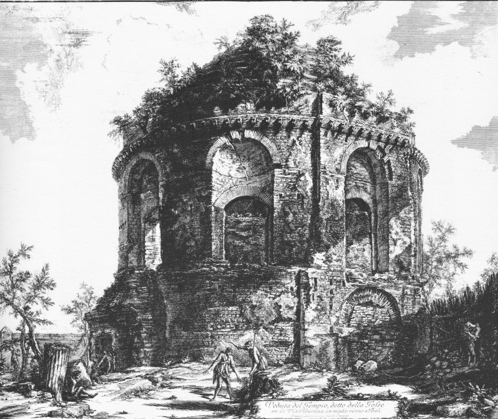 Fig. 9. Veduta di F. Piranesi (1763)